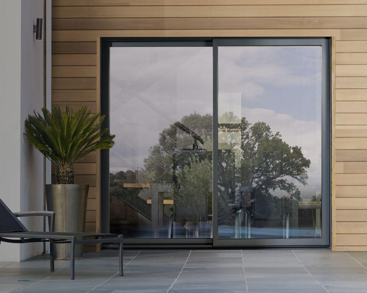 Porte-fenêtre aluminium Egokiefer