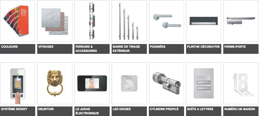 Portes Inotherm Accessoires