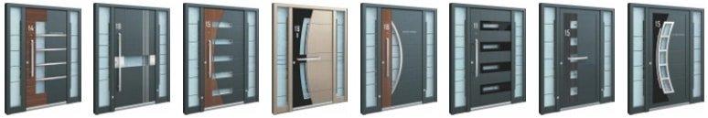 Portes dessinées sur mesure Inotherm