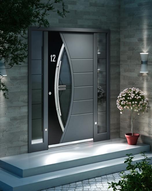 Porte d'entrée Inotherm sur mesure