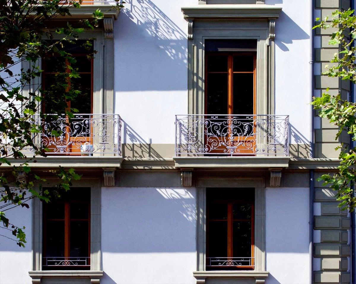 Fenêtres historique à l'ancienne