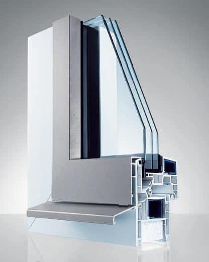Fenêtre PVC Aluminium Egokiefer