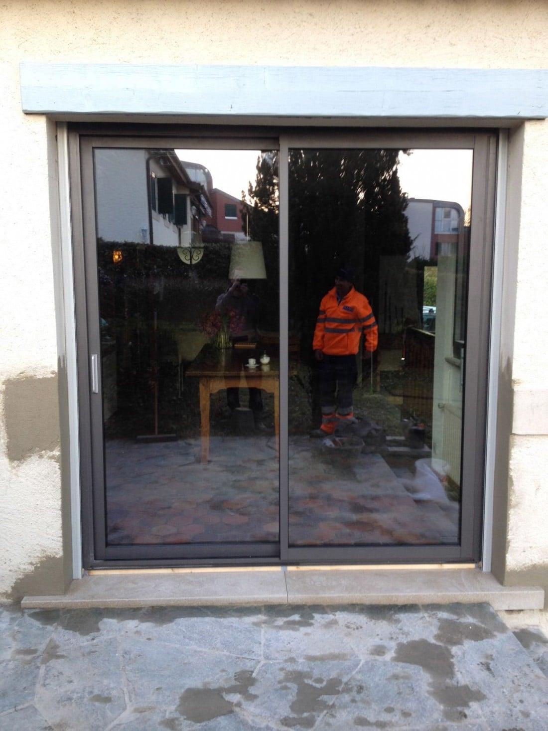 Transformation fenêtre en porte-fenêtre